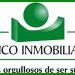 Trabajo banco inmobiliario, anuncio con su logo en verde