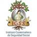 logotipo del Instituto Guatemalteco de Seguridad Social, Una madre con su bebé abajo de un arbol con las letras IGSS